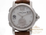 Ulysse Nardin Dual Time Lady 37MM Ref. 243-22/391 watch, silver