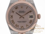Rolex Datejust TWO-TONE 31MM Ref. 178241 watch,  two - tone (bi - colored) silver (case) and rose gold (bezel)