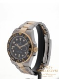 Rolex GMT Master II TwoTone Ref. 116713LN two-tone (bi-colored) silver and yellow gold