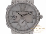 Ulysse Nardin Executive Dual Time 40MM Ref. 243-10B 7/391 watch, silver