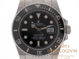 Rolex Oyster Perpetual Date Submariner 40MM Ref. 116610LN watch, siver (case) and silver & black (bezel)