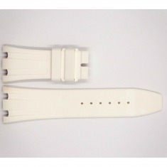Rubber Audemars Piguet Royal Oak Offshore Strap, white