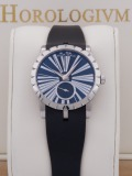 Roger Dubuis Excalibur Lady Automatic 36MM watch, silver