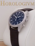 IWC Pilot Chronograph Day-Date watch, silver