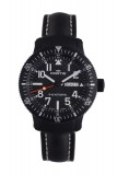 Fortis B-42 Official Cosmonauts Day Date Black 647.28.71 LP Watch, matte black