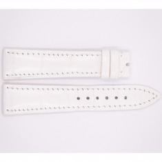 Leather Jaeger-leCoultre Strap, glossy white