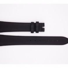 Leather Maurice Lacroix strap, black