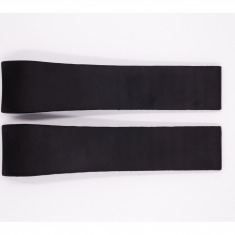 Rubber Fortis strap, black