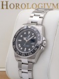 Rolex GMT Master II watch, silver