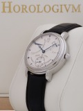 Maurice Lacroix Masterpiece Calendrier Retrograde watch, silver
