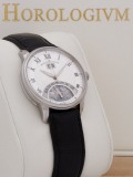 Maurice Lacroix Masterpiece Jours Retrograde watch, silver