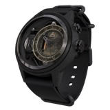 The Electricianz The Blackout ZZ - A1C / 03 watch, two tone (Bi - colored) light carbon-grey and black