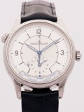 Jaeger-LeCoultre Master Control Geographic watch, silver