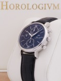 IWC Portofino Chronograph Day-Date 42MM watch, silver