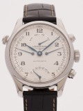 Longines Master Collection Retrograde 41MM watch, silver