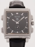 Tag Heuer Monaco Sixty Nine watch, silver