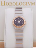 Omega Constellation Quartz Two-Tone 27MM watch, two - tone (bi - colored) silver and rose gold