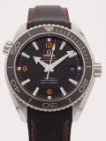 Omega Seamaster Planet Ocean 45.5MM watch, silver