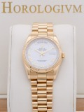 Rolex Day Date 36MM YG White Dial G Serial watch, yellow gold