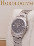 Rolex Oyster Perpetual 39MM watch, silver