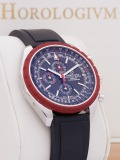 Breitling Chrono-Matic 1461 Limited 500 pcs. watch, silver (case) and red (bezel)