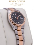 Rolex Datejust Two-Tone Turn-o-Graph 36MM watch, two-tone (bi-colored) silver and red gold