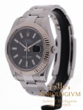 Rolex Datejust II Ref. 116334 watch, silver