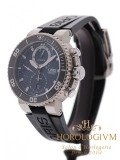 Oris Aquis Carlos Coste Chronograph Limited Edition 2000 pcs watch, silver (case) and grey - black (bezel)
