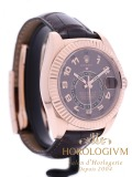 Rolex Sky-Dweller Brown Dial Ref. 326135  watch, rose gold