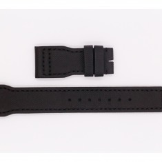 Leather and Rubber IWC Strap A51386, black