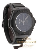 Hublot King Power Big Bang All Black Foudroyante Ceramic Limited Edition 500 pcs watch, matte black