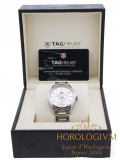 Tag Heuer Carrera Calibre 8 GMT watch, silver