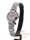 Cartier Pasha 27 mm watch, silver
