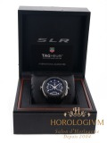 Tag Heuer Mercedes-Benz SLR Limited 3500 pcs watch, silver (case) and black (bezel)