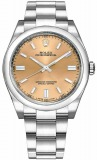 "Rolex Oyster Perpetual 36 MM ""White Grape - Champagne"" Dial Ref. 116000 watch, silver"